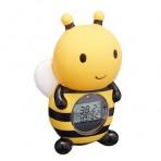 [아카짱혼포]룸 앤 바스 디지털 서모 미터 꿀벌 (디지털 탕 온도계)