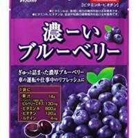 아사히 찐한 블루베리 사탕