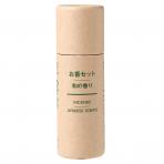MUJI 무인양품 향세트 일본의 향기 4종 x 8개