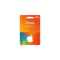 일본 아이튠즈 카드 3000엔
