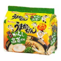 큐슈의 맛 돈코츠라멘 우마카쨩 하카타(타카네 풍미) 5개입
