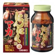 오리히로 완전무취 마카+마늘 180정