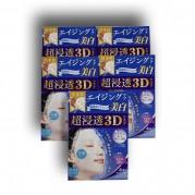[이유있는 특가!]肌美精 초침투 3D 마스크 에이징케어 (미백)4 장 x 5개