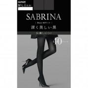 [스타킹]GUNZE 군제 SABURINA 스타킹 블랙 40D