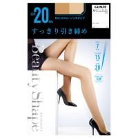 [스타킹]GUNZE 군제 하드 착압 스타킹 beauty shape 20hpa