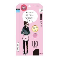 [스타킹]여자의 욕망 보풀이 잘 생기지 않는 바람 막이 타이즈 110D (M-L/블랙)