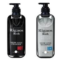 [특가수량한정]세계최초 약용 Rigaos Roh 샴푸200ml+두피케어200ml