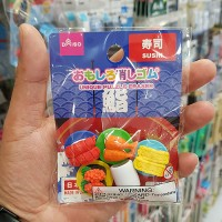 [다이소] 재밌는 지우개 시리즈 스시 미니!!