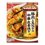 Cook Do 간편요리 돼지 고기와 양파의 중화 생강 3-4인분