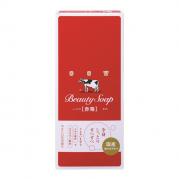 카우 브랜드 비누 빨간상자(로즈풍향기) 6개입