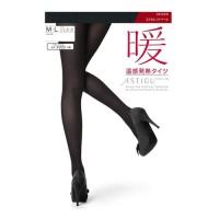 [스타킹]ATSUGI 아츠기 방한 발열 타이즈 暖(난)110D (M-L/블랙)