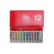 홀베인 HWC 수채화물감 5ml 12색