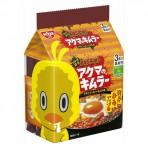 그릇에 먹는 치킨 라면 아쿠마노키무라  3개입 그릇용