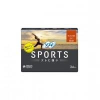 [생리대] 소피 스포츠 특별이 많은날 낮용 날개 없는 26mm 슬림 타입 24개입