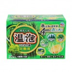 EARTH 온포 입욕제 탄산탕 숲 향기 4종 x 5개