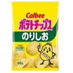 Calbee 감자칩 노리시오 김소금 60g